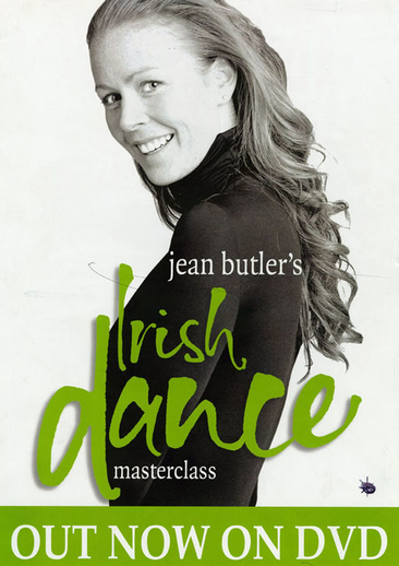 Jean Butler, dancer, DVD promotional poster