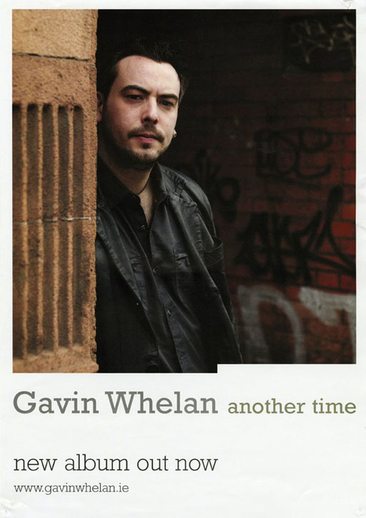 Gavin Whelan, whistle, CD promotional poster
