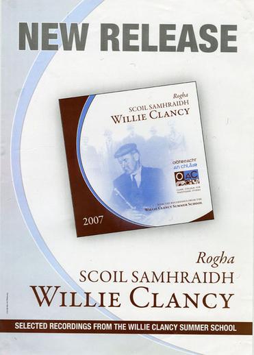 Rogha Scoil Samhraidh Willie Clancy, CD promotional poster