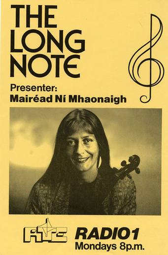 The Long Note, radio programme promotional poster