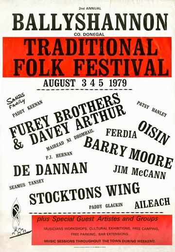 Ballyshannon, 1979, event poster