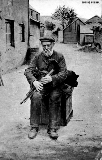 Irish piper / [unidentified photographer]