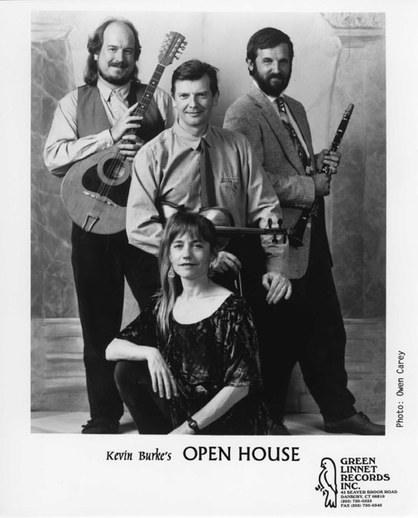 Kevin Burke's Open House, group, 1994 / Owen Carey