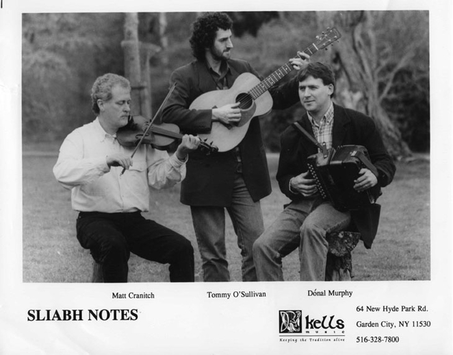 Sliabh Notes, group, ca. 1995 / unidentified photographer