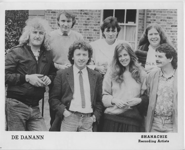 De Danann, group, 1987 / unidentified photographer