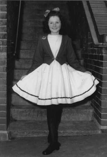 Síle Quinn, dancer, 1959 / unidentifed photographer