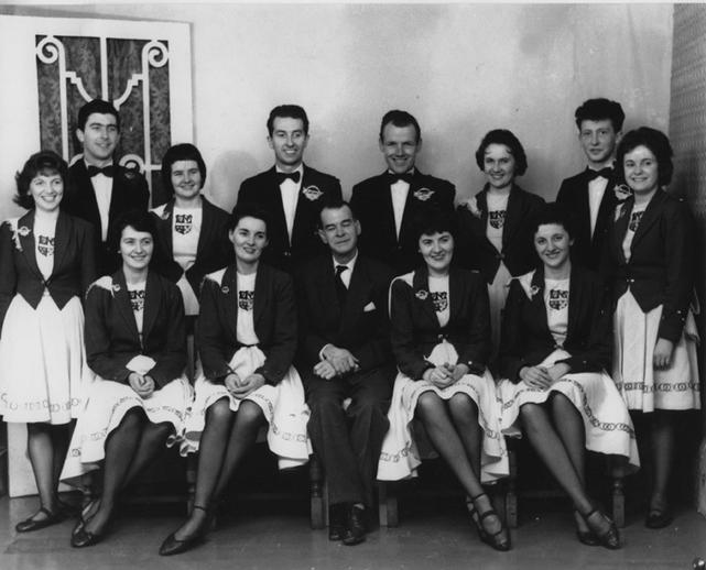 Smith's School of Dancing, dancers, c. 1957 / unidentified photographer