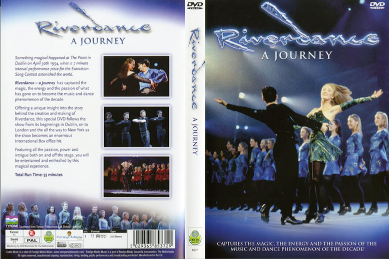 Riverdance : a journey, DVD cover