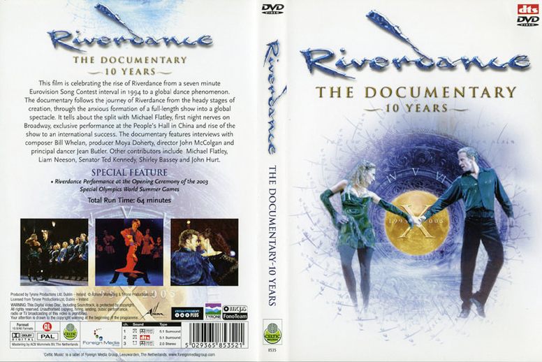 Riverdance : the documentary : ten years, DVD cover