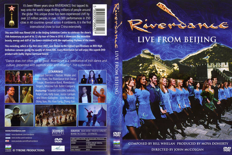 Riverdance : live from Beijing, DVD cover