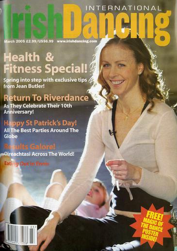 Irish Dancing. Volume 8, number 3, serial cover