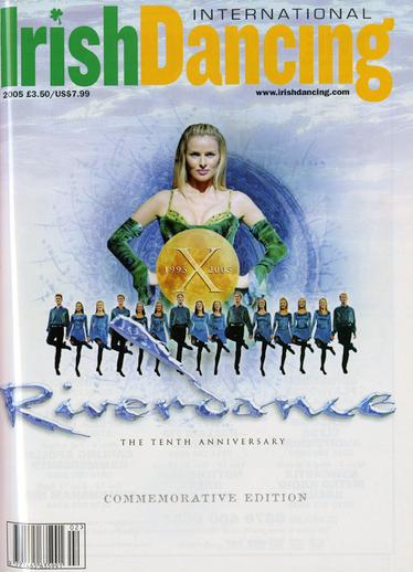Irish Dancing. Volume 8, number 2, serial cover