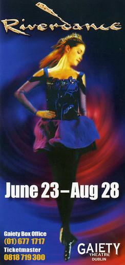 Riverdance 2010, advertisement [recto]