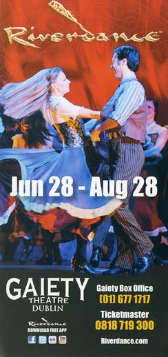 Riverdance 2011, advertisement [recto]