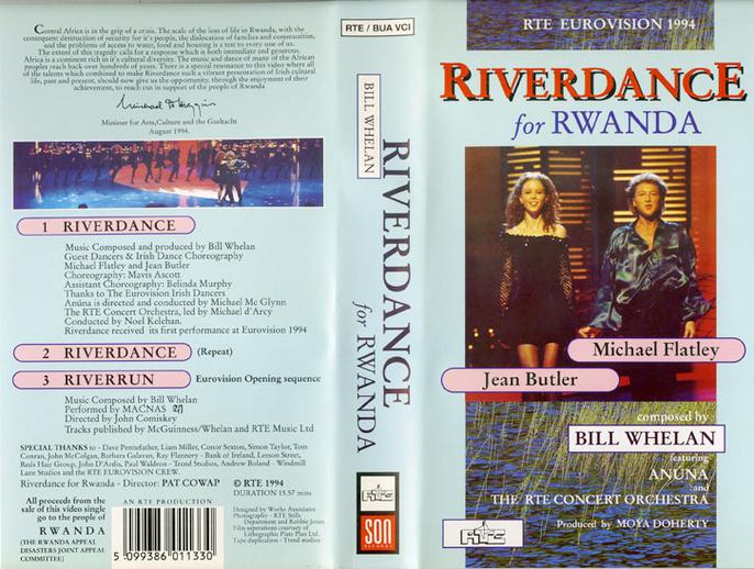 Riverdance for Rwanda, VHS cover