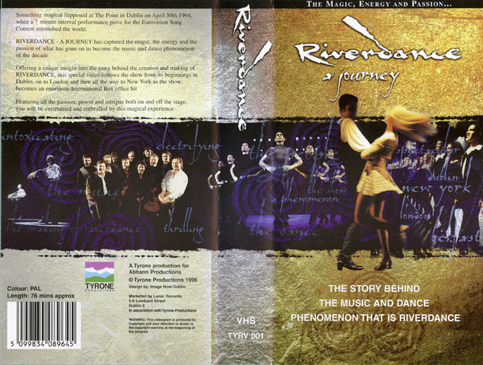 Riverdance : a journey, VHS cover