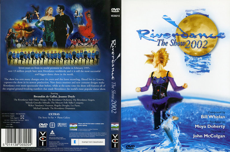 Riverdance : the show 2002, DVD cover