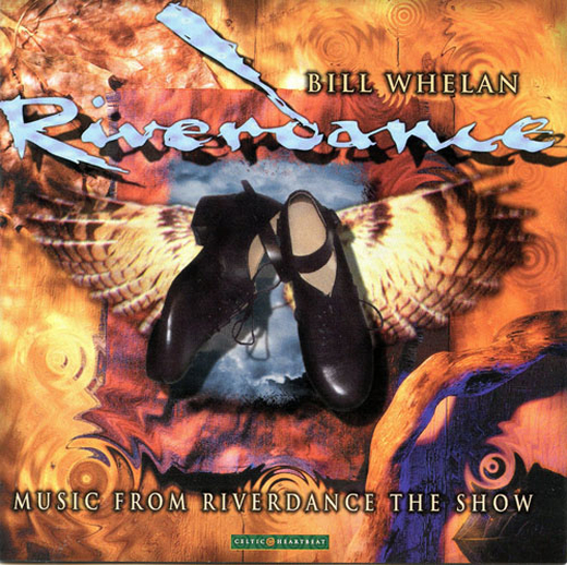 Riverdance : music from Riverdance the show, CD cover