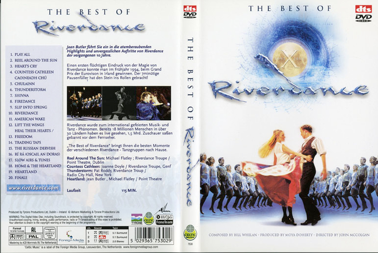 The best of Riverdance, DVD cover