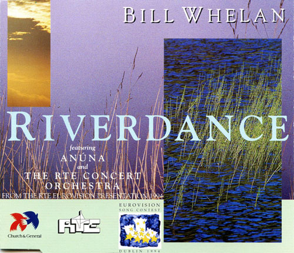 Riverdance : from the RTE Eurovision presentation 1994, CD cover