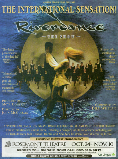 Riverdance : the show, poster