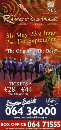 Riverdance 2007, advertisement [verso]