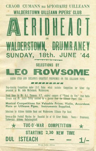 Aeridheacht, 1944, event poster
