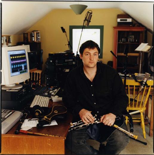 Ronan Browne, uilleann pipes, 2000 / Paul McCarthy