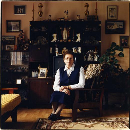 Treasa Ní Laifeartaigh, singer, 2000 / Paul McCarthy