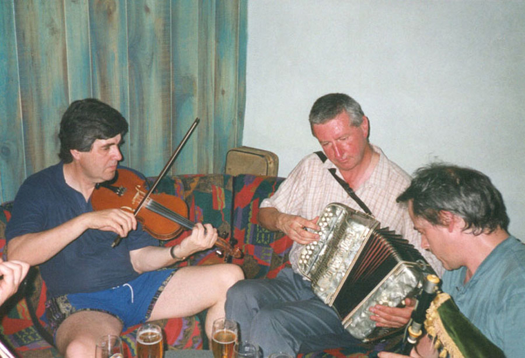 Paddy Glackin, fiddle ; and others, Tocane 1998 / Jerry O'Reilly