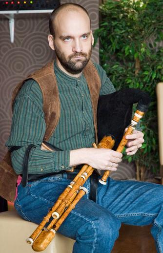 Olle Galmo, pipes, 2005 / Paul Eliasberg