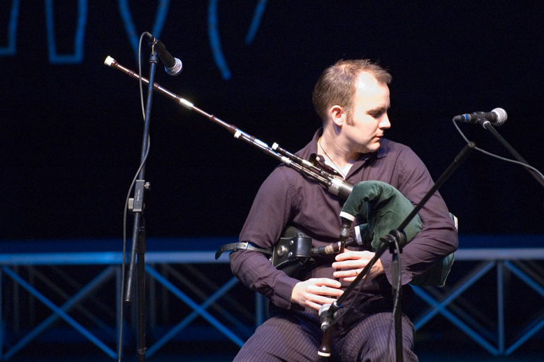 Rory Campbell, pipes, 2005 / Paul Eliasberg