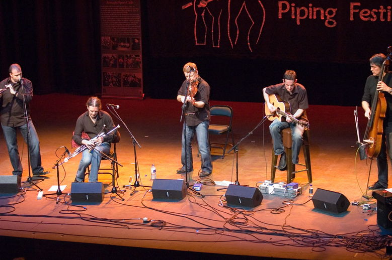Lúnasa, group, 2006 / Paul Eliasberg