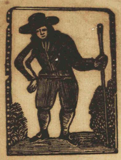 Teddy O'Gra, woodcut