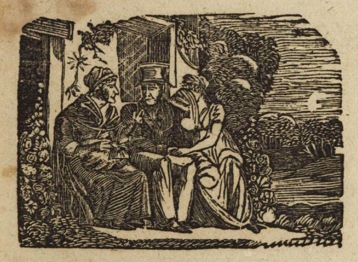 The dear Irish maid, woodcut