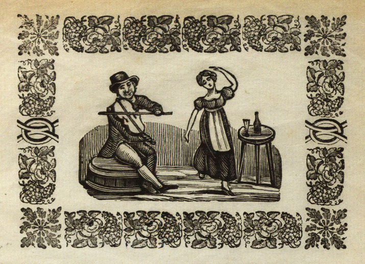 The rambling boys of pleasure, woodcut