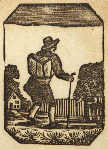 Roving journeyman, woodcut