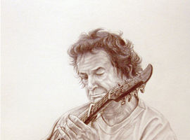 Drawings of Musicians and Singers by Mike Lancaster