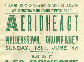 Leo Rowsome on the Bill:  Concert Posters, 1940s–1950s