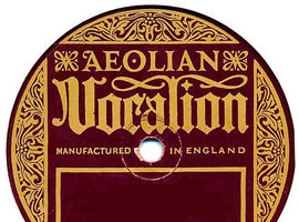 Selection of 78 rpm Recordings from Aeolian Vocalion