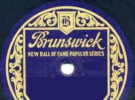 Selection of 78 rpm recordings from Brunswick