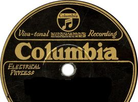 78 rpm recordings of O'Leary's Irish Minstrel's on the Columbia record label
