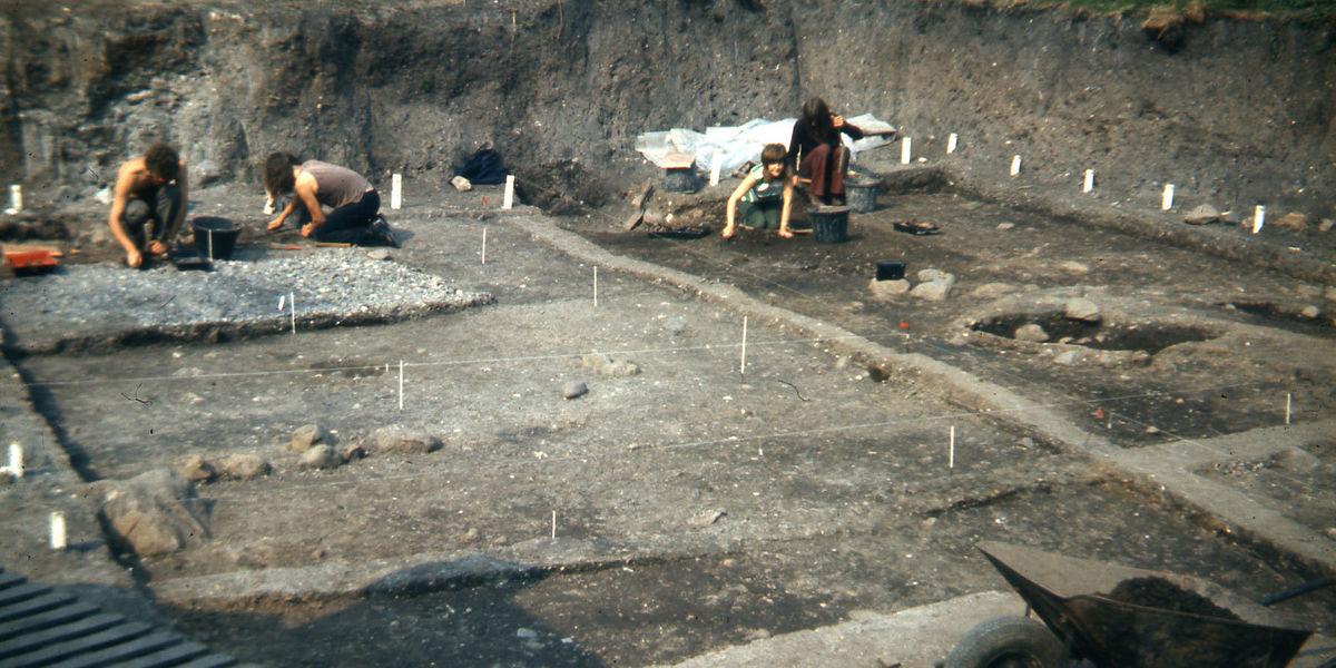 Excavations Carrickfergus 1972