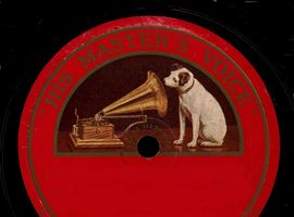 78 rpm recordings of the Austin Stack Ceilidhe Band on the HMV label