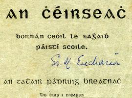 Fr Pádruig Breathnach, An Smólach & An Chéirseach, 1926
