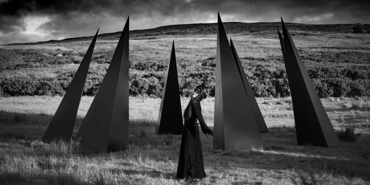 Oblivion Aideen Barry In Front Of Poisioned Land Photo By Darren Ryan