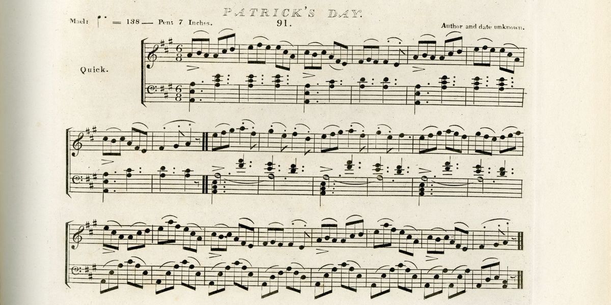 Bunting 1840 Patricksday
