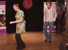 Sean-Nós Dancers at the Frankie Kennedy Winter School, 2006