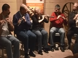 Roscommon Flute Players in Donegal, 2007