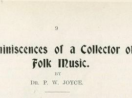 PW Joyce's Articles on Irish Music, 1904−1912